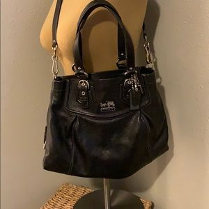 All Leather Black Coach
